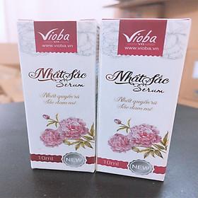 Bộ 2 sản phấm Nhất Sắc serum của Vioba Giảm mụn, mờ thâm,nám da, tàn nhang (10ml)