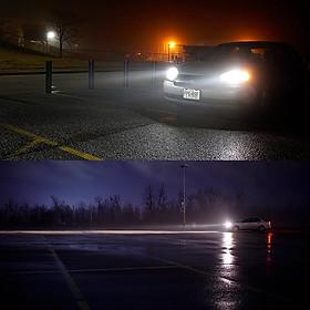 2pcs/set 9005/HB36K Mini LED EV8 120W 8000LM 6500K Headlight Bulb