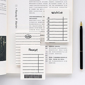 Giấy note task list
