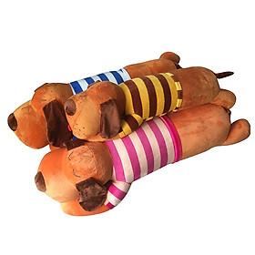 Gối Ôm Chó Bông Mặc Áo ICHIGO (70cm)