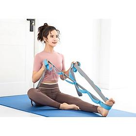 Dây Kéo Tập Yoga Gym, Dây Hỗ Trợ Kéo Giãn Căng Cơ Chân, Dây Kháng Lực miDoctor