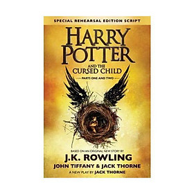 Sách - Harry Potter and the Cursed Child by J.K. Rowling,Jack Thorne,John Tiffany - (US Edition, hardcover)