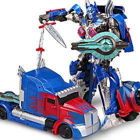 Robot biến hình ô tô Transformer mẫu Optimus Prime 601A trong phim The Last Knight