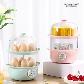 Máy Hấp Trứng Mini (2 Ngăn) LOTOR ZDQ-01 - Hàng Chính Hãng