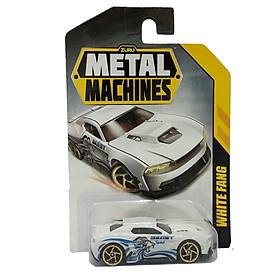 Đồ Chơi Xe Đua Tốc Độ 3 Inch Zuru Metal Machines 6708 - White Fang - Màu Trắng