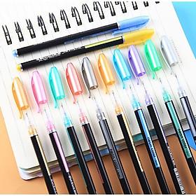 Bút nhũ màu 12 cây loại đẹp, bút ánh kim