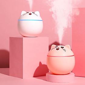 Máy phun sương tạo độ ẩm mini hình Mèo cute Venado