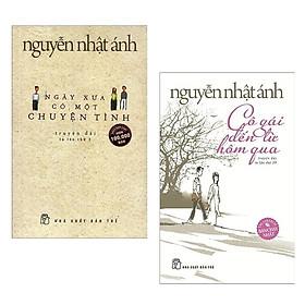 Combo 2 Cuốn Sách Hay Nhất Của Nguyễn Nhật Ánh: Ngày Xưa Có Một Chuyện Tình + Cô Gái Đến Từ Hôm Qua Tặng Sổ tay VDT