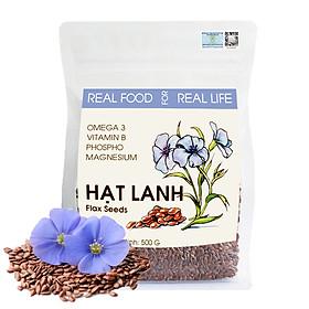 Túi Hạt Lanh Bổ Dưỡng Real Food Store (500g)