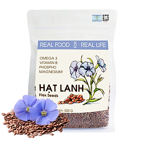 Túi Hạt Lanh REAL FOOD STORE (500g)