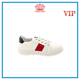 Giày Thể Thao  Sneaker Bé Trai Bé Gái Đi Học Cổ Thấp Crown Space UK Active Trẻ em Cao Cấp CRUK252 Siêu Nhẹ Êm Size 28-35/2-14 Tuổi