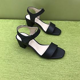 [ Shop giày somina ] Sandal quai ngang 7cm MT225