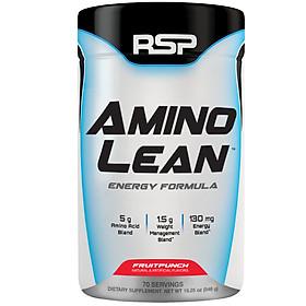 RSP Amino Lean Fruit Punch bổ sung năng lượng, cung cấp amino acid -70 lần dùng