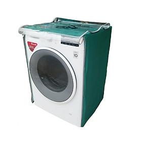 Vỏ bọc máy giặt cửa ngang chất liệu vải dù siêu bền chống mưa nắng màu xanh dương