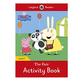 Peppa Pig: The Fair Activity Book - Ladybird Readers Level 1 (Paperback)