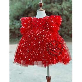 Váy công chúa Bông tuyết