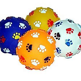 Banh đồ chơi bóp kêu cho chó (màu ngẫu nhiên)