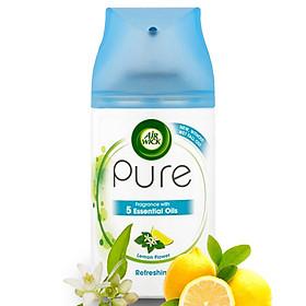 Bình xịt tinh dầu thiên nhiên Air Wick Lemon Flower 250ml QT05935 - hương hoa chanh