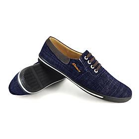 Giày Lười Vải Cao Cấp Peace PO1218