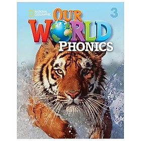 OUR WORLD AME PHONICS 3 STUDENT BOOK & AUDIO CD
