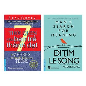 Combo 7 Thói Quen Của Bạn Trẻ Thành Đạt (Tái Bản) + Đi Tìm Lẽ Sống (2 cuốn)