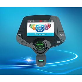 Tẩu sạc điện mini thông minh trên xe hơi tích hợp máy thu phát nhạc số kết nối bluetooth không dây đa năng cao cấp G24 (Tặng quạt mini vỏ nhựa usb- giao ngẫu nhiên)