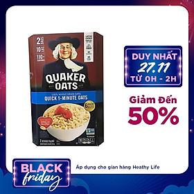 Yến Mạch Quaker Oats Quick - 1 Minute 4.52kg ( Dạng Hạt Cán Vỡ )