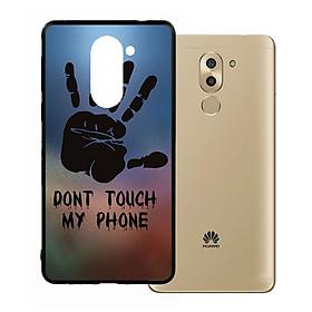 Ốp lưng viền TPU cho Huawei Gr5 2017 - Dont Touch My Phone