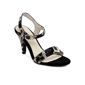 Giày Sandal Gót Nhọn Họa Tiết Da Báo Sulily SG1-I17DABEO