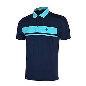 Áo thun thể thao Nam Dunlop - DASLS9079-1C kiểu dáng Polo nam lifestyle phù hợp chơi cầu lông tennis mặc hàng ngày