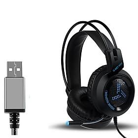 Tai nghe chơi game chụp tai G-NET H3T V7.1- Hàng chính hãng