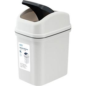 Thùng rác nắp lật Hiro 10L