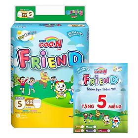 Tã Quần Goo.n Friend Gói Cực Đại S62 (62 Miếng) - Tặng Thêm 5 Miếng