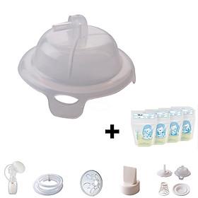 Phụ kiện lẻ cho máy hút sữa Unimom Hàn Quốc + Tặng kèm 2 túi trữ sữa Sunmum 100ml