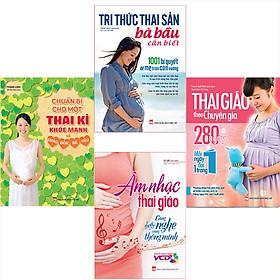 Bookset Sách:  4 Cuốn Sách Mang Thai Hay Nhất Dành Cho Mẹ Bầu
