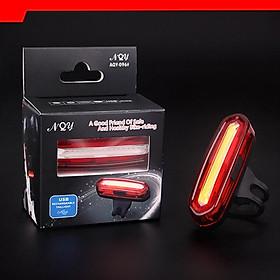 Đèn Nháy Sau Xe Đạp | Đèn LED NQY096 Sạc USB, Chống Nước, Pin Lithium, Độ Sáng 120Lumen | Thời Gian Sáng Tối Đa Lên Đến 15 Giờ