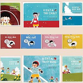 Combo 10 Cuốn Ehon Nhật Bản: Chơi Thể Thao Cùng Kenta Nào + Taku - Cậu Bé Mộng Mơ (Truyện Tranh Ehon Bán Chạy Nhất Trong Tháng)
