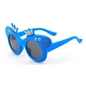 Kính gọng dẻo thời trang heo Peppa Pig dễ thương cho bé và hộp kính ô tô siêu xinh