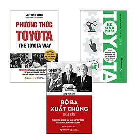 Combo Sách : Phương Thức Toyota + Hệ Sinh Thái Toyota + Bộ Ba Xuất Chúng Nhật Bản