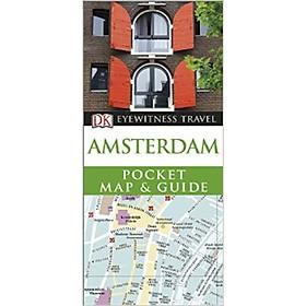 DK Eyewitness Pocket Map and Guide: Amsterdam (N