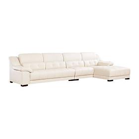 Sofa Cao Cấp Chữ L Juno Sofa Smart Oled 310 x 180 x 85 cm (Trắng)