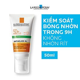 Kem Chống Nắng Kiểm Soát Bóng Nhờn Và Bảo Vệ da La Roche-Posay Anthelios XL Dry Touch Gel-Cream SPF 50+ UVB & UVA 50ml