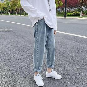 ( Jean dày) Quần Jeans Nam -  Quần Baggy Nam Thời Trang Unisex- Phong cách thời trang hàn quốc