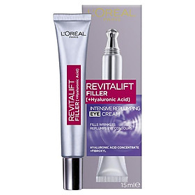 L'Oreal Paris Revitalift Filler Replumping Eye Cream 15ml
