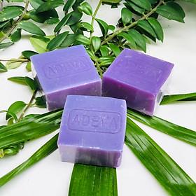 Xà phòng handmade Adeva Naturals - Xà bông Oải hương (3 bánh - 100 gr/ 1 bánh) - Xà phòng handmade với thành phần từ thiên nhiên, an toàn dịu nhẹ, cho làn da mềm mại - Không gây khô rít da