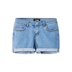 Quần Shorts Nữ Denim THE COSMO Denim Shorts - Blue