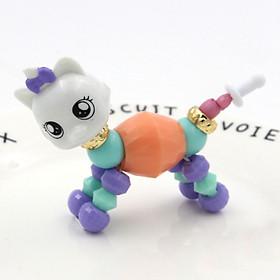 Vòng Đeo Tay biến hình Thú dễ thương Twisty Petz - Mèo (Màu Ngẫu Nhiên)