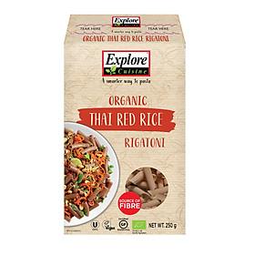 Nui Ống Gạo Lức Đỏ Hữu Cơ Explore Cuisine (250g)