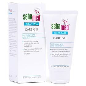 Gel Dưỡng Ẩm Chăm Sóc Và Bảo Vệ Da pH 5.5 Sebamed Clear Face Care Gel SCF05 (50ml)