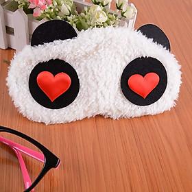 Bịt mắt ngủ (Eye Mask) Panda siêu dễ thương (Giao ngẫu nhiên)